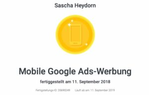 Google Zertifikat mobile Ads_2