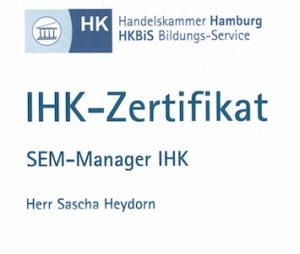 IHK-Zertifikat SEO und SEA-Manager