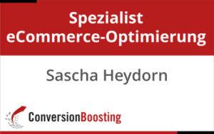 Zertifikat Spezialist eCommerce-Optimierung