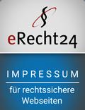 erecht24 Impressum Logo